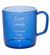 I am lovely happy mug