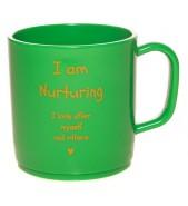 I am nurturing happy mug