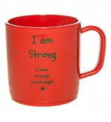 I am strong happy mug